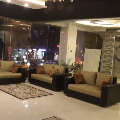 lobby view of anarkalihotel - luxury hotel in bahria town